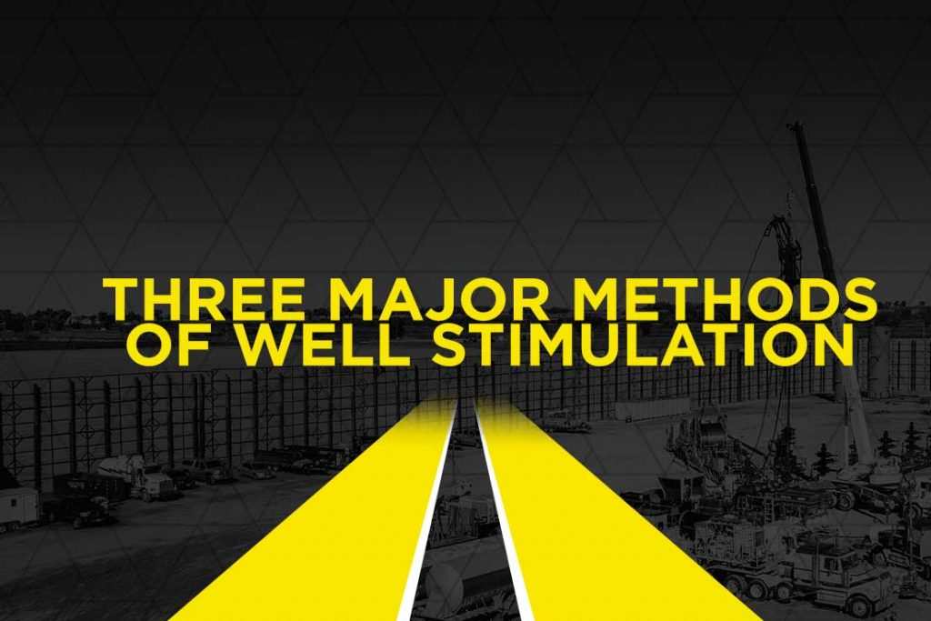What are the Three Major Methods of Well Stimulation?